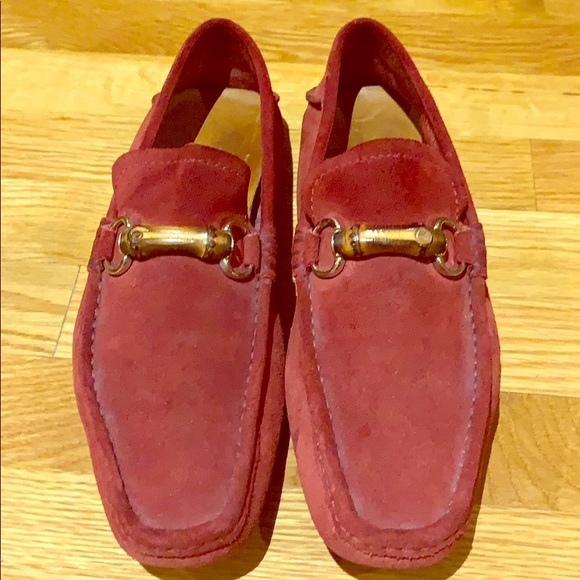 42eefd9e4 Gucci Shoes   Mens Horsebit Bamboo Suede Driving Loafer   Poshmark